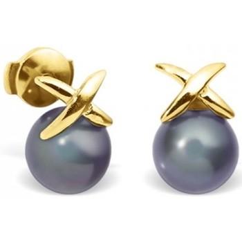 Watches Women Earrings Blue Pearls BPS K350 W Multicolored