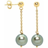 Watches Women Earrings Blue Pearls BPS K351 W Gold