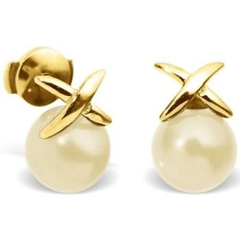 Watches Women Earrings Blue Pearls BPS K348 W Multicolored