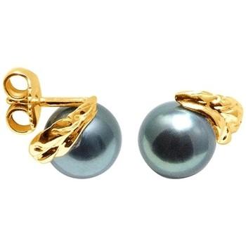 Watches Women Earrings Blue Pearls BPS K353 W Gold