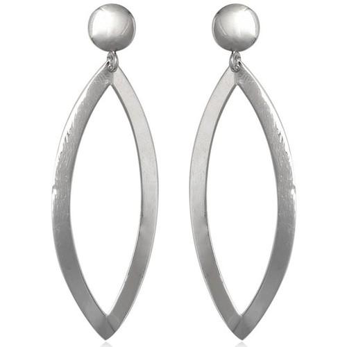 Watches Women Earrings Blue Pearls 925 Silver Dangle Earrings Multicolored
