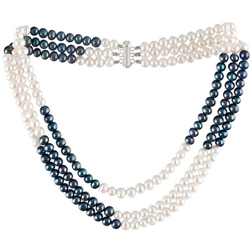 Watches Women Necklaces Blue Pearls BPS 0100 Y Multicolored
