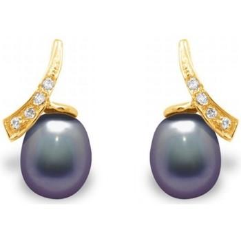 Watches & Jewellery  Women Earrings Blue Pearls BPS K362 W Multicolored