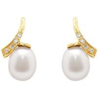 Watches & Jewellery  Women Earrings Blue Pearls BPS K363 W Multicolored