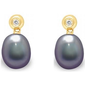 Watches Women Earrings Blue Pearls BPS K364 W Multicolored