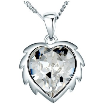 Watches Women Pendants Blue Pearls White Swarovski Crystal Elements Lion Heart Pendant and Rhodium Multicolored