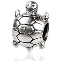 Watches Women Pendants Blue Pearls 925 Silver Tortle Charms bead Multicolored