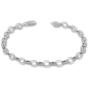 Watches Women Bracelets Blue Pearls 925 Silver Charm's Bracelet - 20 cm Green