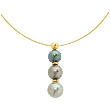 Watches & Jewellery  Women Necklaces Blue Pearls BPS K002 W Mother Of Pearl