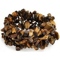 Watches Women Bracelets Blue Pearls Brown Tiger Eye Gemstones Stretch Women Bracelet Other