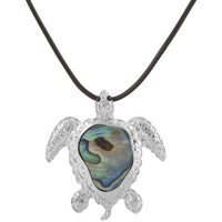 Watches Women Pendants Blue Pearls Abalone Tortle Pendant Other