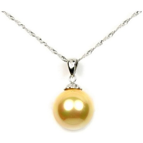 Watches Women Pendants Blue Pearls Golden Freshwater Pearl Pendant and 925 Silver Multicolored