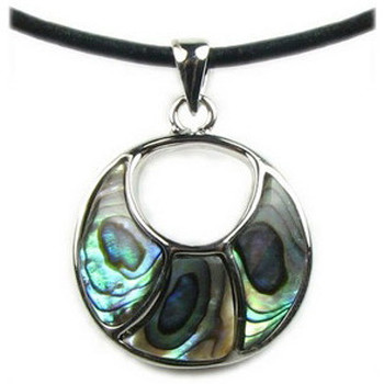 Watches & Jewellery  Women Pendants Blue Pearls BPS 0182 Y Green