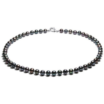 Watches Women Necklaces Blue Pearls BPS 0244 Y Black