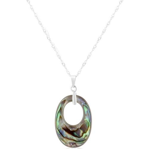 Watches & Jewellery  Women Pendants Blue Pearls BPS 0115 Y Green