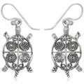 Watches Women Earrings Blue Pearls 925 Silver Turtle Dangling Earrings Other