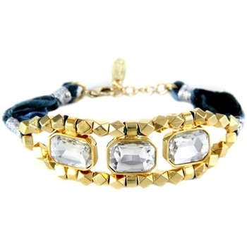 Watches Women Bracelets Blue Pearls ETK 0153 Multicolored