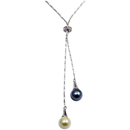 Watches & Jewellery  Women Pendants Blue Pearls CRY E762 J Multicolored