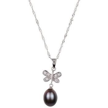 Watches & Jewellery  Women Pendants Blue Pearls BPS 0135 Y Black