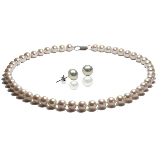 Watches & Jewellery  Women Jewelerry sets Blue Pearls BPS 1070 O White