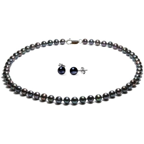 Watches & Jewellery  Women Jewelerry sets Blue Pearls BPS 1070 O Black