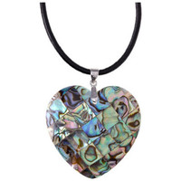 Watches Women Pendants Blue Pearls Abalone Heart Pendant and 925 Silver Other