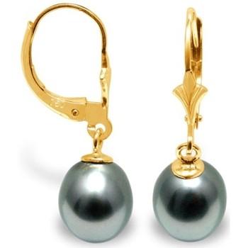 Watches Women Earrings Blue Pearls BPS K335 W Gold
