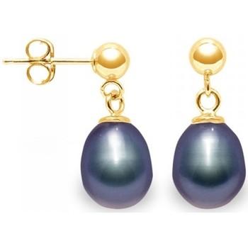 Watches Women Earrings Blue Pearls BPS K337 W Multicolored