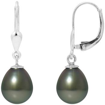 Watches & Jewellery  Women Earrings Blue Pearls BPS K383 W Green