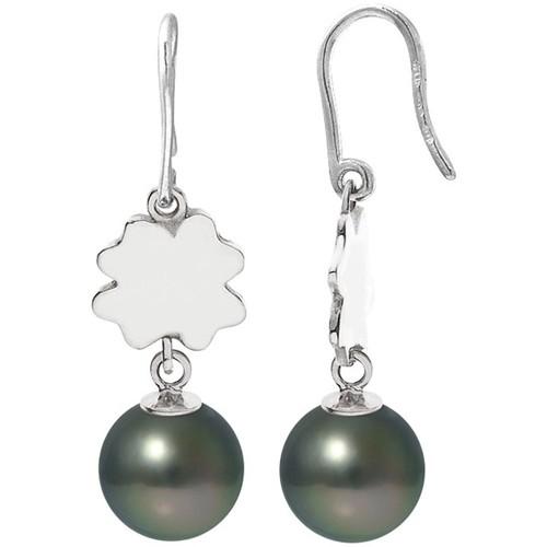 Watches Women Earrings Blue Pearls BPS K385 W Silver