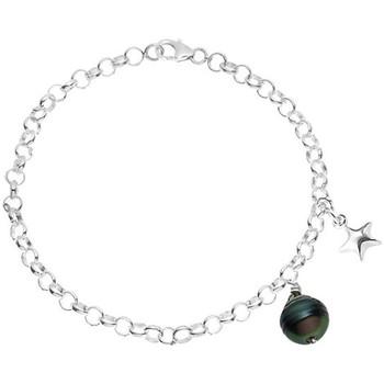 Watches Women Bracelets Blue Pearls BPS K105 W Silver