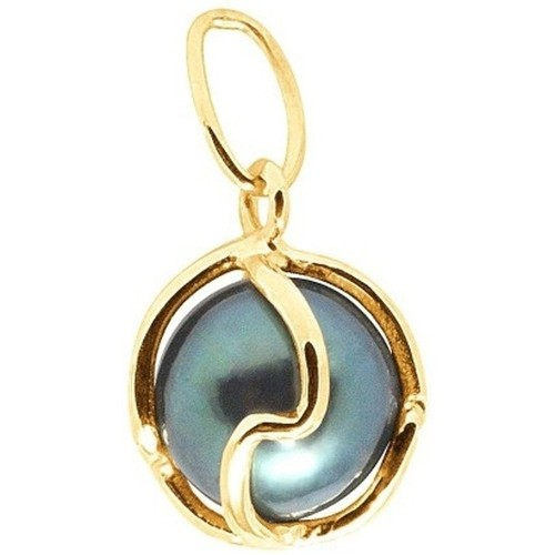 Watches Women Pendants Blue Pearls BPS K215 W Gold