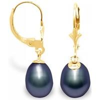 Watches Women Earrings Blue Pearls BPS K319 W Multicolored