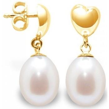 Watches Women Earrings Blue Pearls BPS K306 W Multicolored