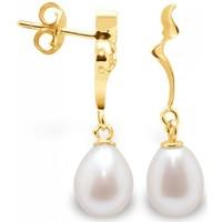 Watches Women Earrings Blue Pearls BPS K305 W Multicolored