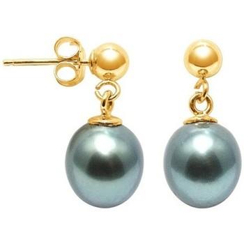 Watches Women Earrings Blue Pearls BPS K311 W Gold