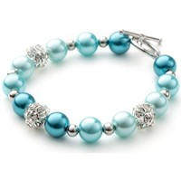 Watches Women Bracelets Blue Pearls OCP 0101 Multicolored
