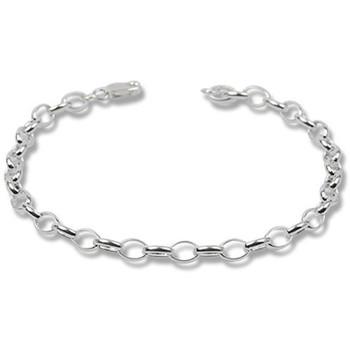 Watches Women Bracelets Blue Pearls 925 Silver Charm's Bracelet - 18 cm Green