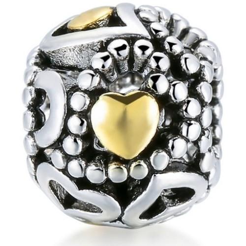 Watches & Jewellery  Women Pendants Blue Pearls MIS 4328 V Gold