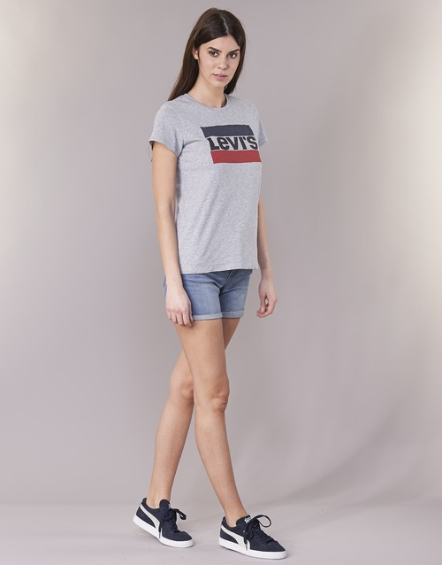 Levi's Levi's Tee Levi's Grey Grey The The Perfect Tee Perfect ZZxTPwrUq