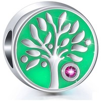 Watches Women Pendants Blue Pearls 925 Silver Tree of Life Charms bead Other