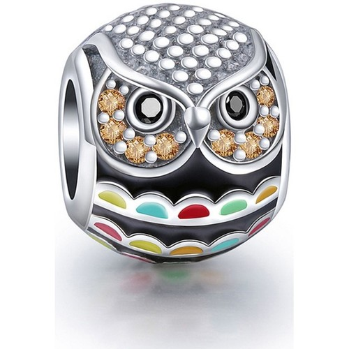 Watches Women Pendants Blue Pearls 925 Silver Owl Charms bead Multicolored