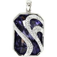 Watches & Jewellery  Women Pendants Blue Pearls CRY R2016 S Multicolored