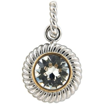 Watches Women Pendants Blue Pearls White Swarovski Elements Crystal Circle Pendant and 925/1000 Sil Multicolored