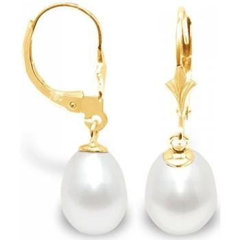 Watches Women Earrings Blue Pearls BPS K315 W Multicolored