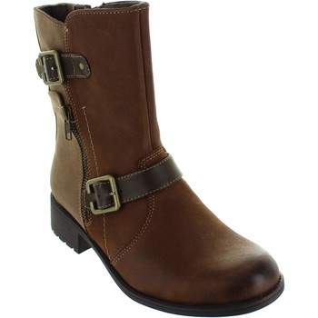 Shoes Women Mid boots Earth Spirit 27060 Bark