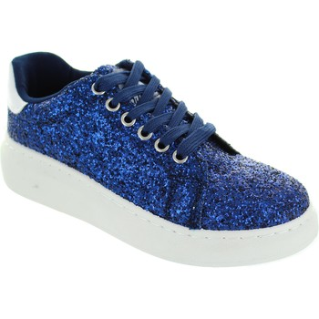 Shoes Women Low top trainers Xti Zapato Sra Navy Glitter