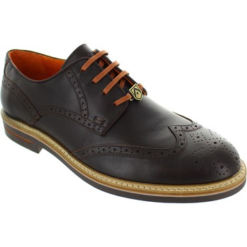 Shoes Men Derby Shoes Ambitious 6191 Brown