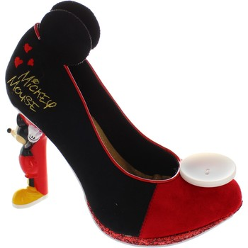 Shoes Women Heels Irregular Choice Mickey Mouse Red/Black