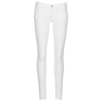 Clothing Women 5-pocket trousers Le Temps des Cerises 316 White